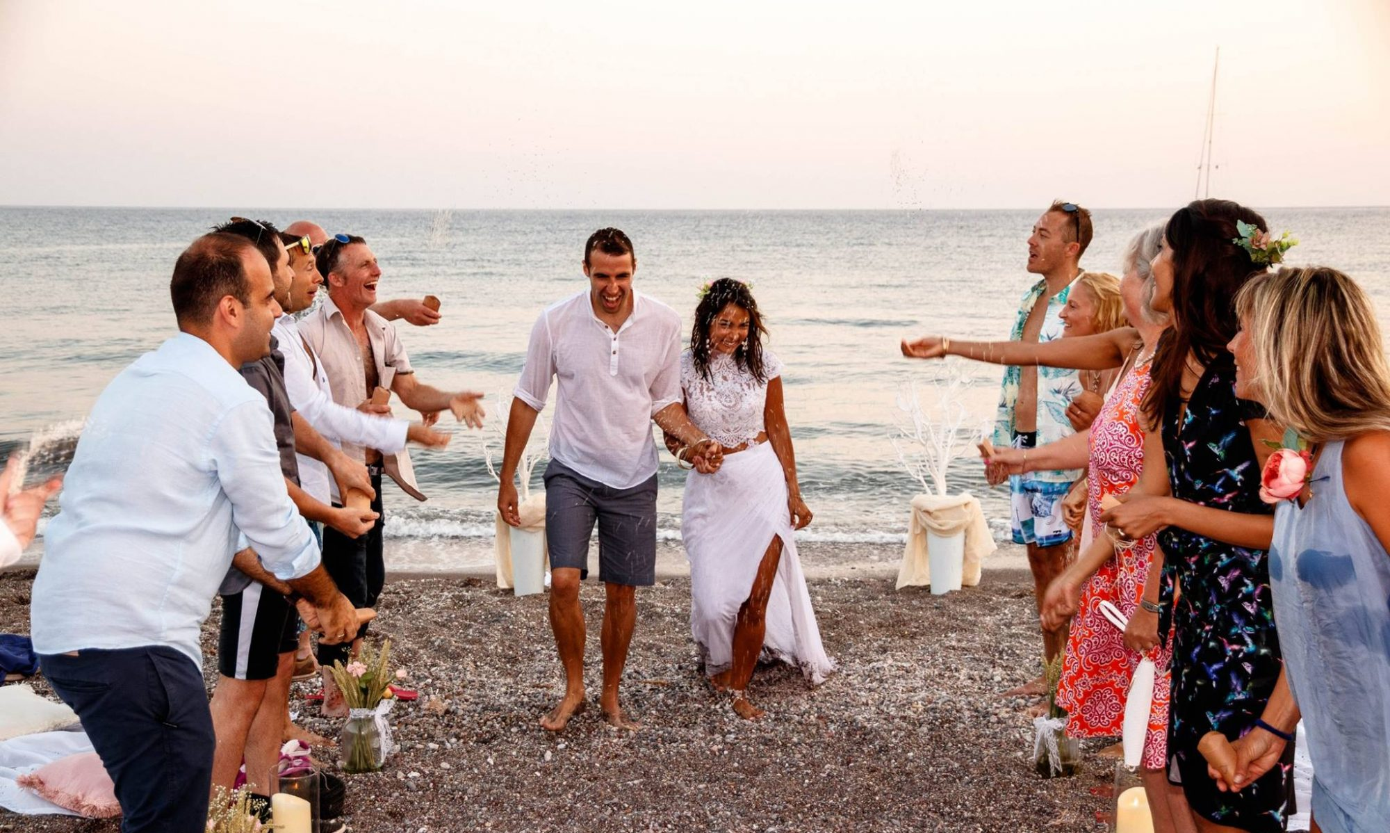 A Wedding Celebrant in Greece